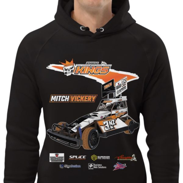 3NZ Mitch Vickery Adult Hoodie